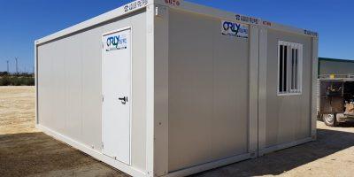 Conjunto modular prefabricados sala de reuniones