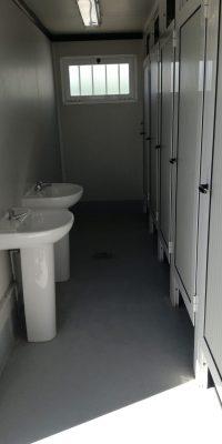 bano portatil 4 wc 2 lavabos modulos orly