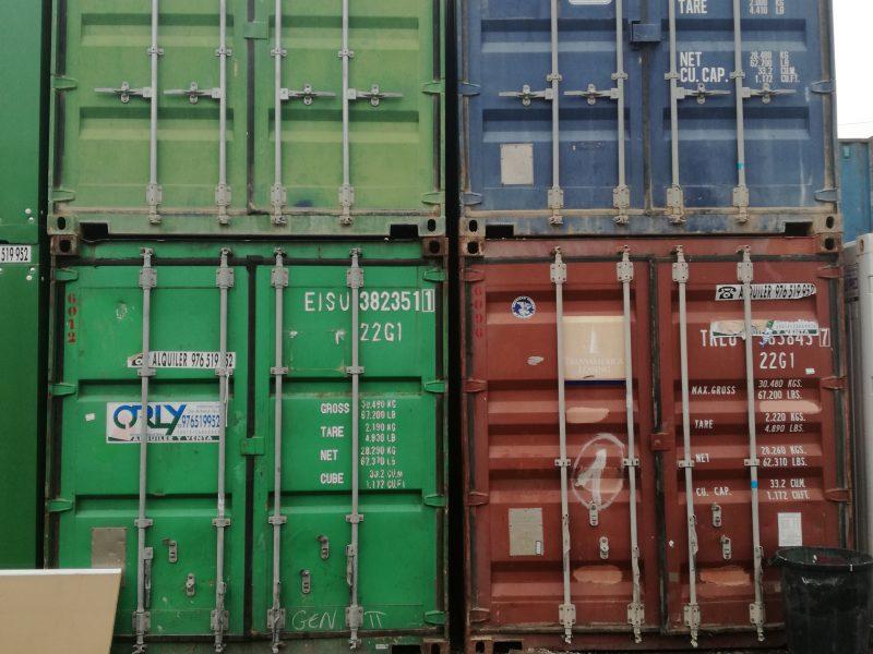 contenedores maritimos para almacenar